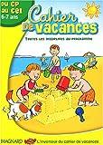 Cahier de vacances du CP au CE1