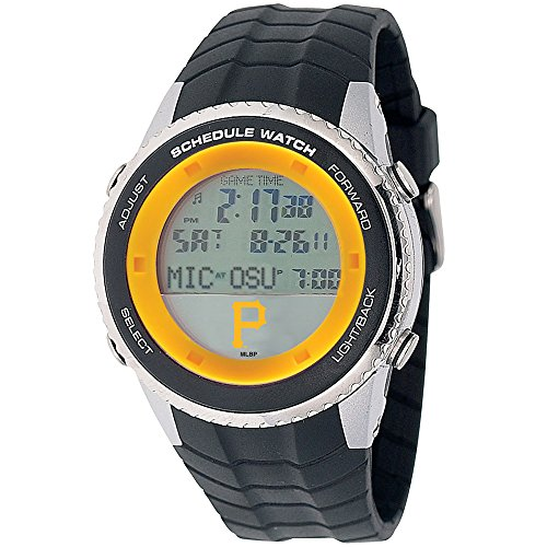 Pittsburgh Pirates Game Time Schedule Wrist Watch P Logo