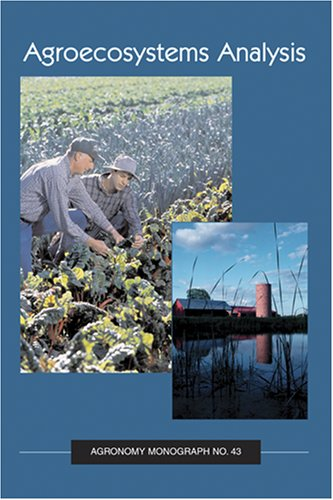 Agroecosystems Analysis (Agronomy, No. 43)