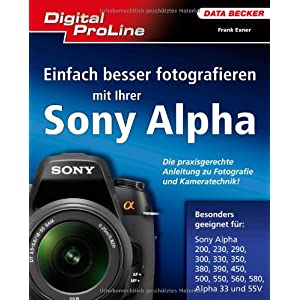 eBook Cover für  Digital ProLine Praxisbuch Sony Alpha DSLRs
