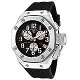 Swiss Legend Men's 10541-01 Trimix Diver Collection Chronograph Black Rubber Watch