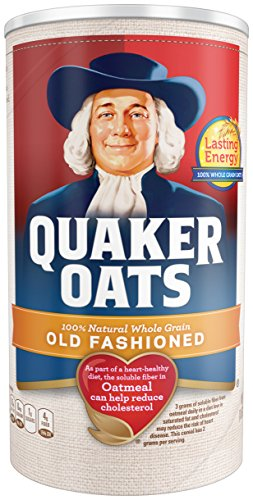 Quaker Old Fashioned Oatmeal, 18 oz Canister (Pack of 6) (Quaker Multigrain Hot Cereal compare prices)