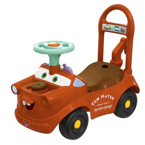 mater the truck activity ride on lightning mcqueen toys
