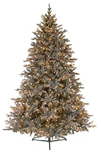 #!Cheap GKI Bethlehem Lighting Baby Pine Blue Full Christmas Tree Prelit with Clear Lights