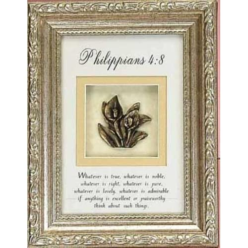 Philippians 4 8 Shadowbox Photo Picture Frame Christian