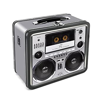 Aquarius Boombox Large Tin Fun Box
