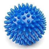Spiky Massage Balls Stress Reflexology 6cm - 2 Colours (Blue)