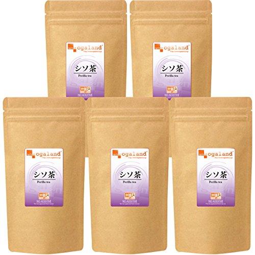 シソ茶(50g/5個セット) 【123000140301005】