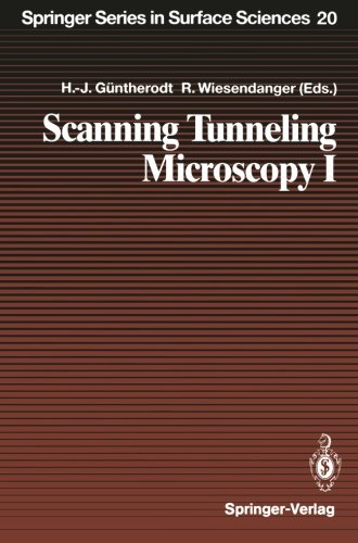 Scanning Tunneling Microscopy I: General Principles And Applications To Clean And Adsorbate-Covered Surfaces (Springer Series In Surface Sciences)