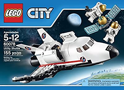LEGO City Space Port 60078 Utility Shuttle Building Kit by LEGO City Space Port