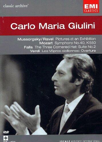 Carlo Maria Giulini [DVD]