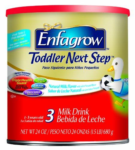 Enfagrow Premium Toddler Formula, Natural Milk, 24 Ounce