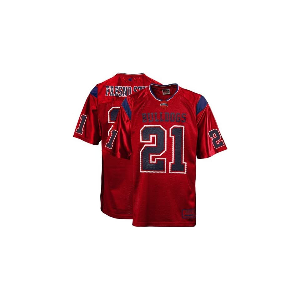 Fresno State Bulldogs #21 Cardinal Red Youth Rivalry Football Jersey
