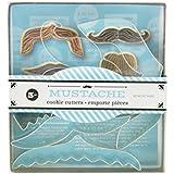 Fox Run Brands Mustache Cookie Cutter Set