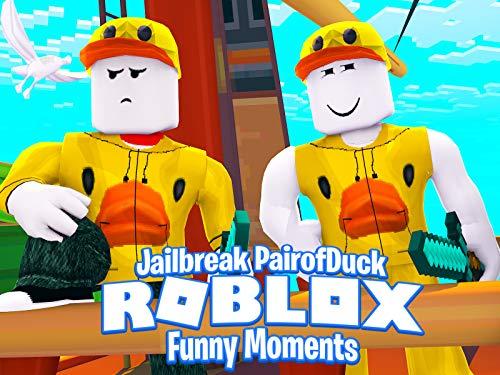 Clip: Roblox Jailbreak (PairOfDucks Funny Moments)