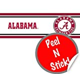 "Alabama Crimson Tide Peel & Stick Wall Border (5.7""X12') at Amazon.com"