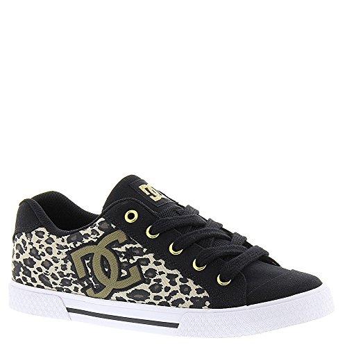 DC Women's Chelsea TX SP Skate Shoe, Leopard Print, 7 M US