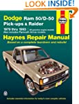 Dodge Ram 50/D-50 Pickups and Raider,...