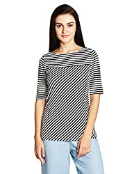 Nautica Women's Body Blouse Top (NT539K22410A_Whitecap_S)