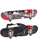 Hudora Skateboard avec sac à dos de transport