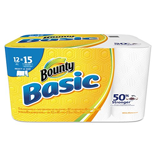 bounty-92972-basic-select-a-size-paper-towels-5-9-10-x-11-1-ply-white-pack-of-12