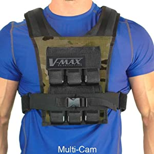30 Lb V-Max Basketball Weight Vest - Made in USA by WeightVest.com