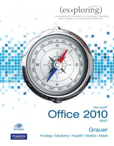 Exploring Microsoft Office 2010 Brief