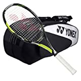 Yonex EZone Ai 100 Strung Tennis Racquet with 6 Racquet Bag by Yonex