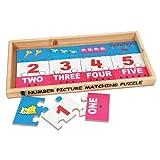 Skillofun Skillofun Number Picture Matching Puzzle Strips Multi Color
