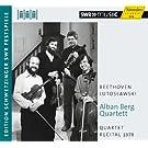 Beethoven, Lutoslawski : Quatuors � cordes. Quatuor Alban Berg.