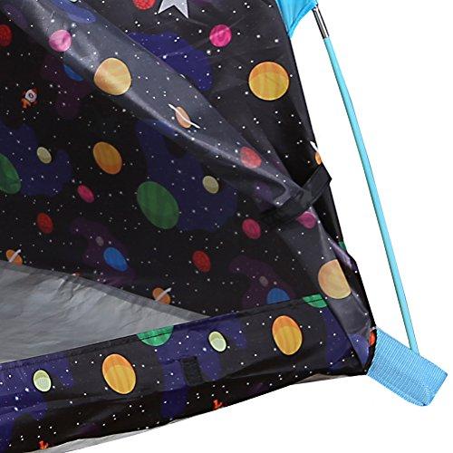 glow in the dark galaxy fabric pacific play tents galaxy dome tent w glow in the dark