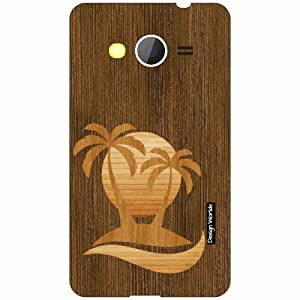 Design Worlds Samsung Galaxy Core 2 Back Cover - Wood Designer Case and Covers