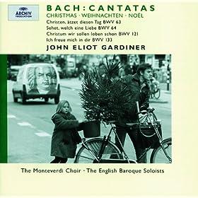 """J.S. Bach: Cantata """"Christen, �tzet diesen Tag"""", BWV 63 - Recitativo: Verdoppelt euch demnach, ihr heissen"""