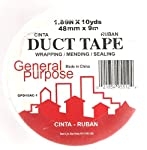 Duct Tape General Purpose - White