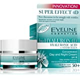 Biohyaluron 4d Concentrated Face Day and Night Cream 50+ for All Skin Types, Also Sensitive Deep Wrinkles Reduction 50 Ml
