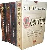 C. J. Sansom C J Sansom Collection 4 Books Set RRP : 31.96 (Dissolution,DarkFire, Sovereign, Revelation) (Shardlake)
