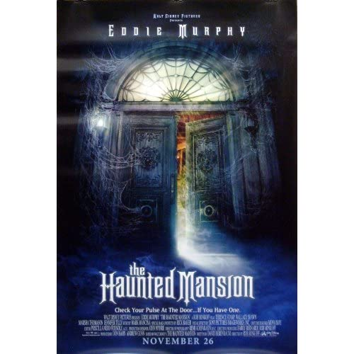 Amazon.com: The Haunted Mansion DS 27x40 Movie Poster ...