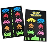 50Fifty Concepts Space Invaders Fridge Magnet