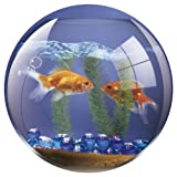Fellowes Round Brite Mat Mouse Pad - Goldfish Bowlby Fellowes