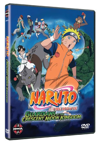 Naruto The Movie 3 - Guardians Of The Crescent Moon Kingdom [DVD]
