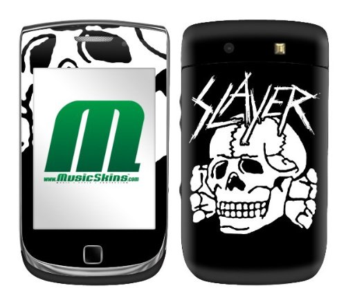 MusicSkins, MS-SLAY10199, Slayer – Death's Head, BlackBerry Torch (9800), Skin