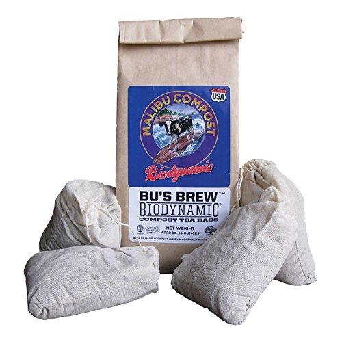 Malibu Compost Bus Brew Biodynamic Compost Tea Bags 4 Cou
