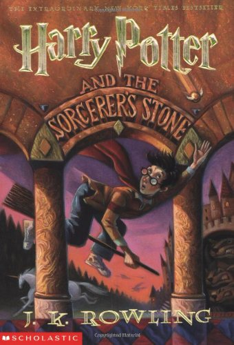 Cover of Harry Potter and the Sorcerer's Stone (Book 1)