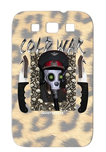 Tpu Black For Sumsang Galaxy S3 Cold War Gas Mask Russian Cold War Military Gas Masks Funny Soviet Satire Army Knife Greenboy Case