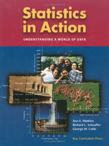 Statistics in Action, Analysis of Variance and ANOVA CD Package: Understanding a World of Data (Key Curriculum Press)
