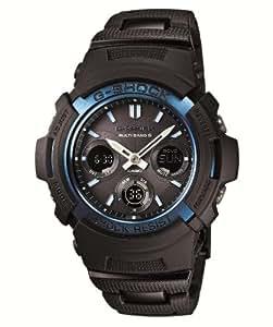 [カシオ]CASIO 腕時計 G-SHOCK ジー・ショック BLACK/BLUE ブラック/ブルーシリーズ 世界6局対応電波ソーラーウォッチ    AWG-M100BC-2AJF メンズ