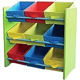 Kinder Möbel Kinderregal Spielzeugbox Spielzeugkiste Kindermöbel