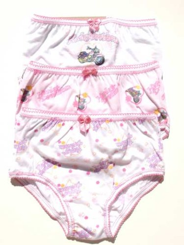 Buy Harley Toddler Girl's 3- Pack Panties (Pink Mix), Available in Multiple Sizes