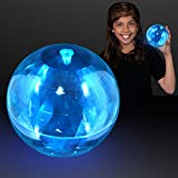 Super Sized Blue Bounce Ball with Flashing LEDs