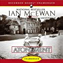 Atonement (       UNABRIDGED) by Ian McEwan Narrated by Jill Tanner